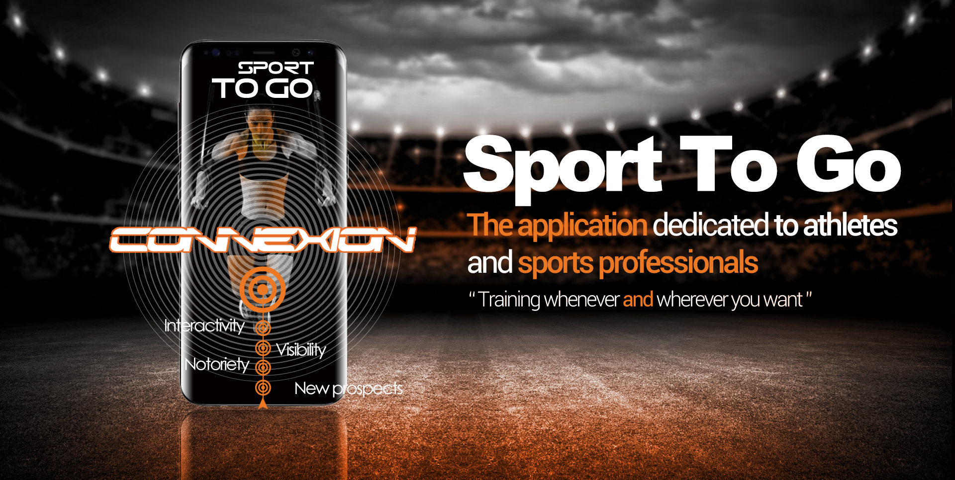 The application dedicated to athletes and sports professionals