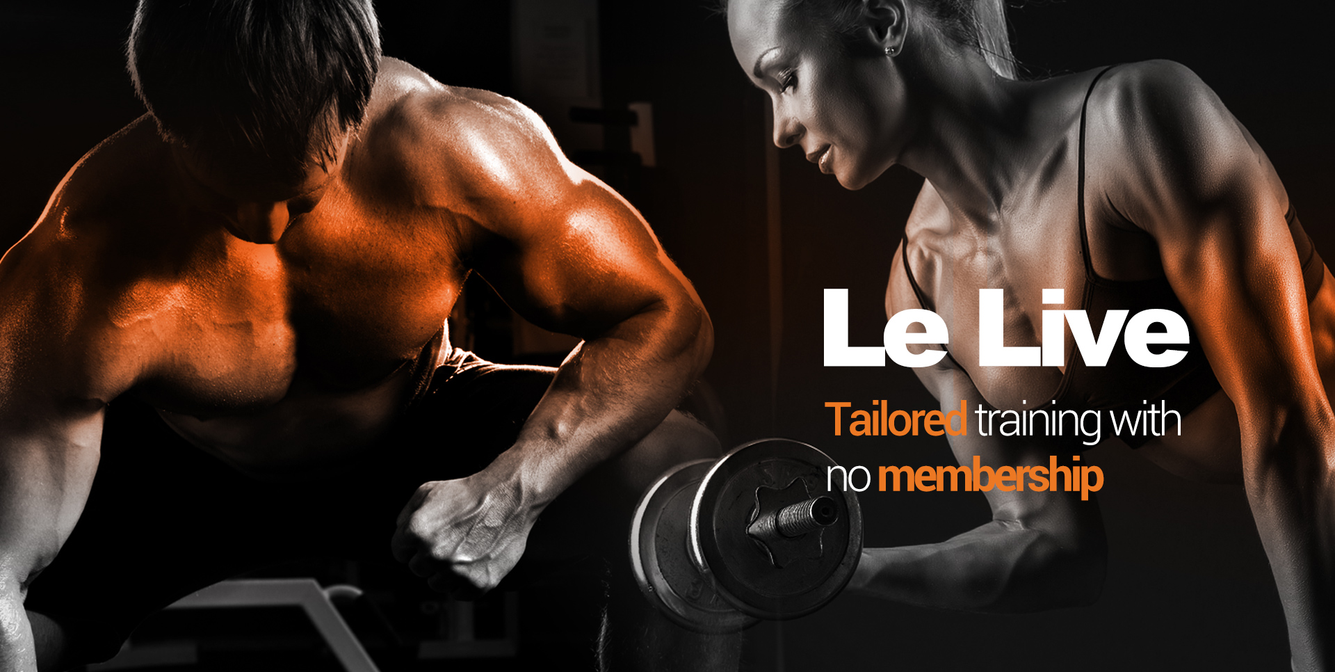 tailored training with no membership