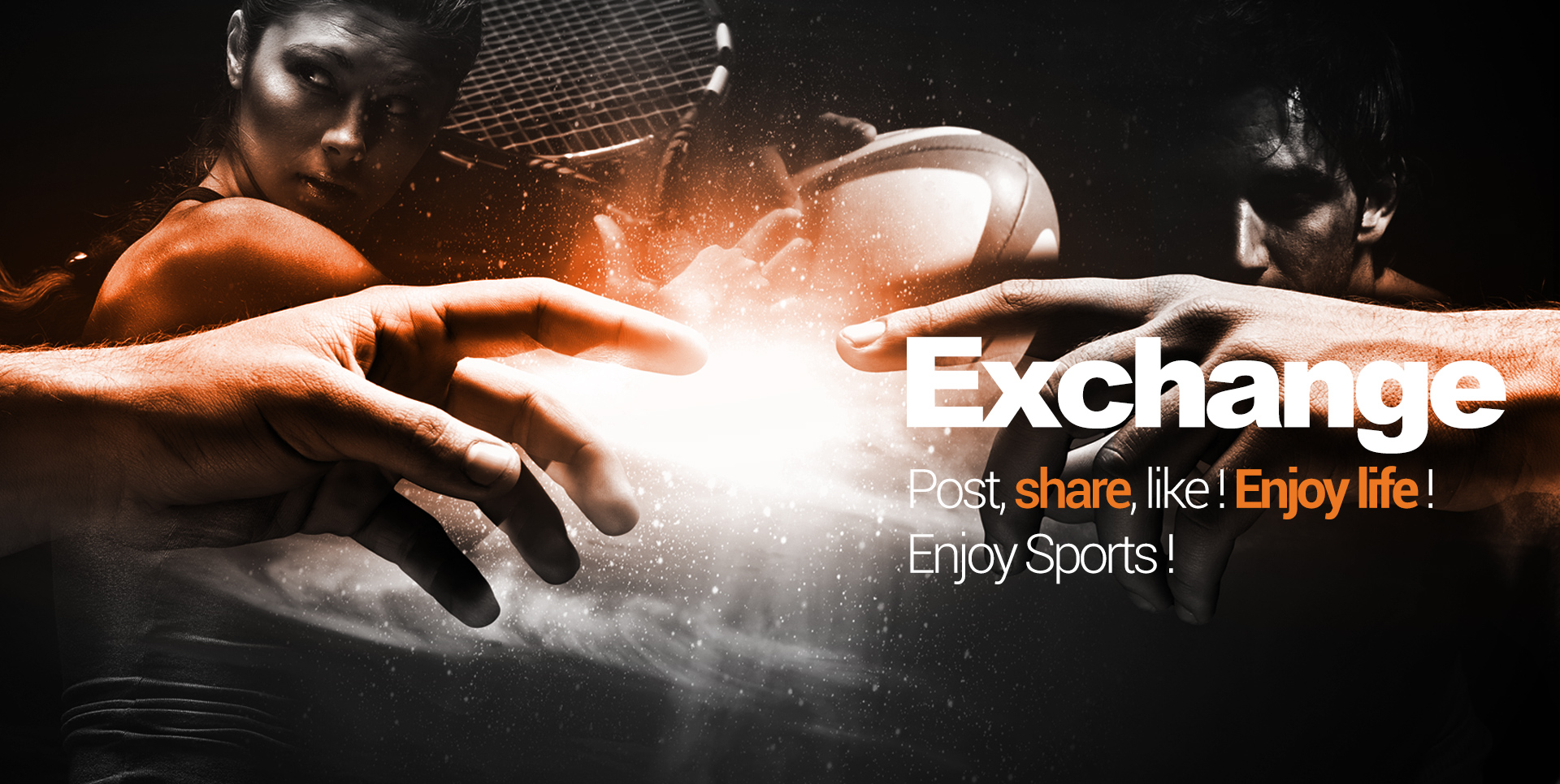 Post, share, like! Enjoy life! Enjoy Sports